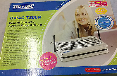 ** Billion BiPAC 7800N Wireless N Router - Used Near New **