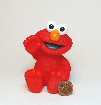 Figur Toy Display Cartoon Diorama Modell Sesamstrasse Muppet Elmo Jim Henson E6