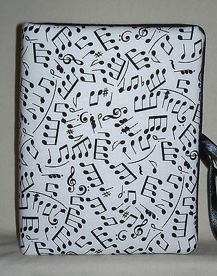 """Musical Notes Music Handcrafted Handmade Photo Album Holds 80 4""""X6"""" - NEW"""