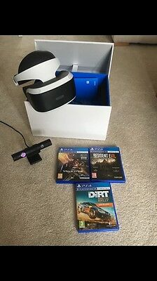 Sony PlayStation VR Headset Camera Bundle
