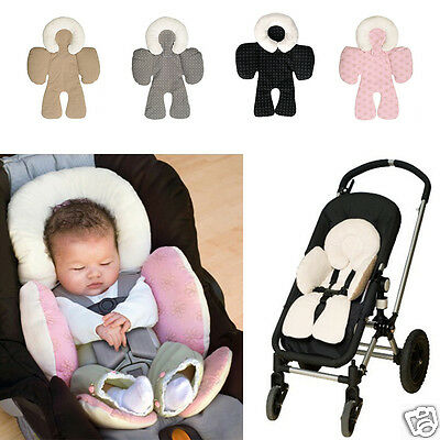 Baby Head Pillow Cushion Body Support For Car Seats Strollers Jogger Outdoors