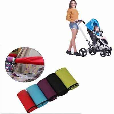 Baby Pushchair Handle Sleeve Pram Hand Glove Stroller Bar Cover Oxford Fabric