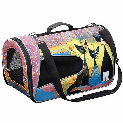 Rosina Wachtmeister Pet Carrier New Soft-sided Cat Travel Bag With Mesh Windows