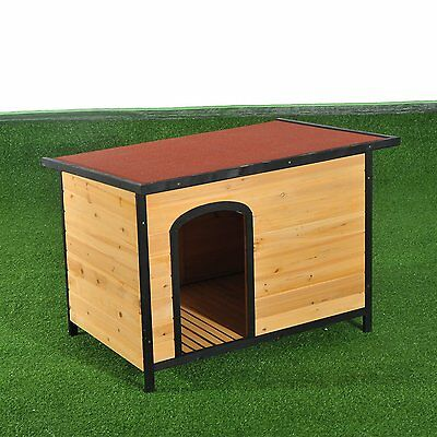 Insulated Heat-resistant Waterproof Wood Kennel New Hard-sided Dog Cage House