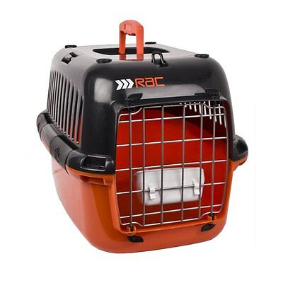 Hard-sided RAC Pet Carrier New Lightweight Cat Dog Travel Cage with Carry Handle