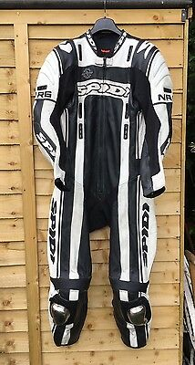 Mens Spidi NRG One Piece Race Leathers euro Size 52 Retro