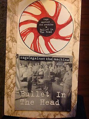 "Rage Against The Machine - Bullet In The Head 12"" Coloured Vinyl"