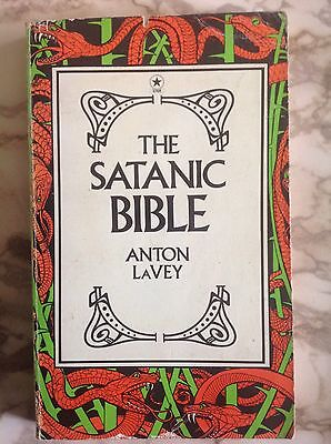 The Satanic Bible Anton LaVey 1977 Vintage PB UK Satanism Occult