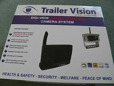Trailer Vision Digi-View Pony Horse Wireless Camera System Easy Fit 33% Off Rrp