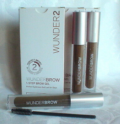 WUNDERBROW - Perfect Eyebrows in 2 Mins - Black/Brown, BNIB x