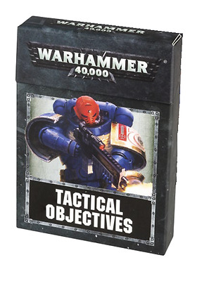 Warhammer 40.000 8th Edition: Tactical Objectives - OVP