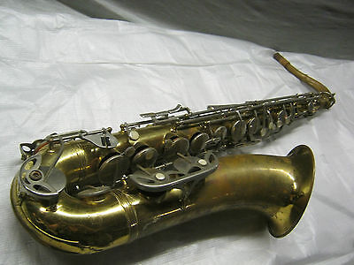 50's MALERNE OLD KRAFTSMAN TENOR SAX / SAXOFON - made in FRANCE