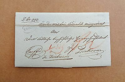 Croatian MIlitary Border , prephilately letter 1831. , postal stamp BROOD