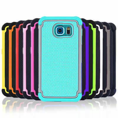 Shockproof Heavy Duty Tough Case Cover for Samsung Galaxy S8 S7 S6 S5 S4 S3 Plus