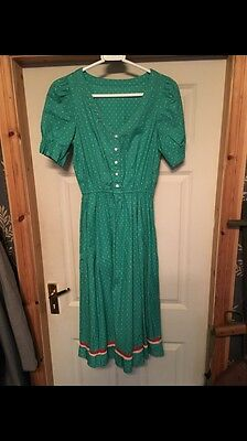 Original True Vintage 1940s WW2 Ladies Dress