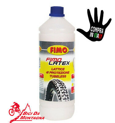 Flacone Ripara Tubless 1 Lt Sigillante Bici Lattice Fimo