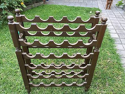 36 Bottle Timber Wine Storage Rack