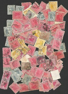 A/1d WEST AUSTRALIAN 1d &2d OLD SWANS  100+ stamps