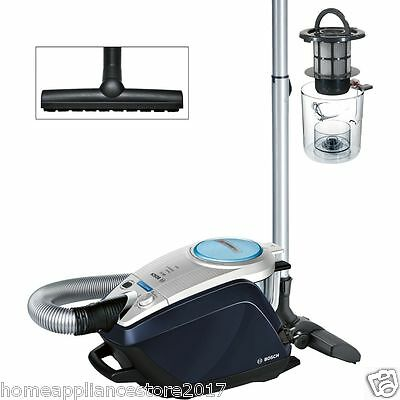 bosch vacuum cleaner cleaners office bagless ultra quiet smart brand silent silence gs power quietest floorcare
