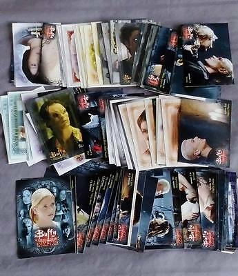 job lot of buffy the vampire slayer trading cards