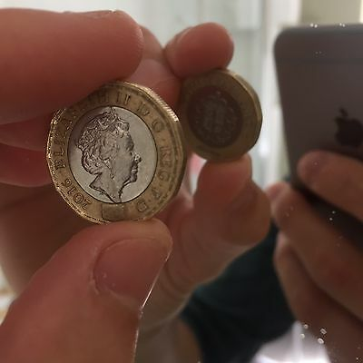 2016 Mule Trial £1 Coin Error Should Be 2015 Very Very Rare