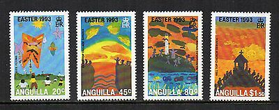 ANGUILLA - 1993, Easter, MNH