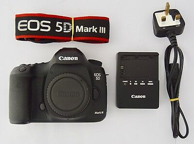 Canon EOS 5D Mark III 22.3MP Digital SLR Camera (Body Only) 30K Shutter Count