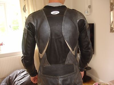 Mens LEWIS  Bike Leathers Size 44 all in one.