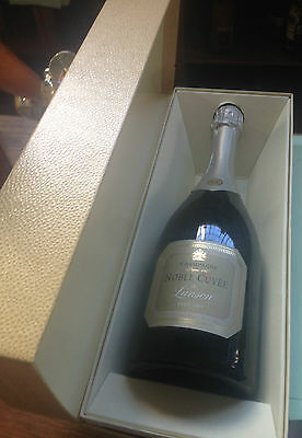 """Vintage Lanson """"Noble Cuvee """" 1989 Champagne Boxed Anniversary Gift Full Sealed"""