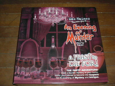Max Haines AN EVENING OF MURDER  - A Feast to Die For