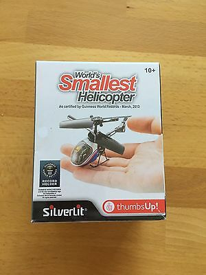 Thumbs Up! Worlds Smallest Radio Remote Control  Helicopter