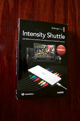 Blackmagic Intensity Shuttle Thunderbolt capture card HD