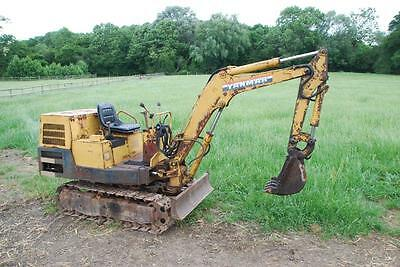 Yanmar Yb10 1.5 Ton Micro Mini Digger Excavator Only 4854Hrs