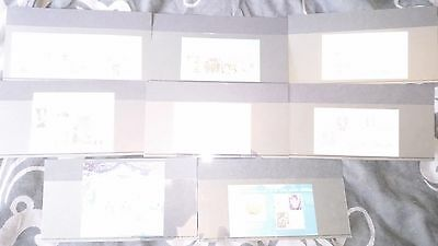 2008 GB Miniature Sheet Year Set (8 M/S) - Royal Mail Mini Sheets of Mint Stamps