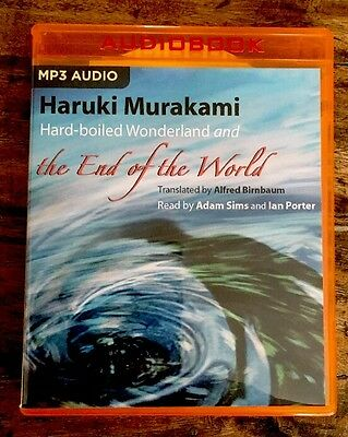 NEW Hard-Boiled Wonderland & End Of World Haruki Murakami MP3 AUDIO-BOOK