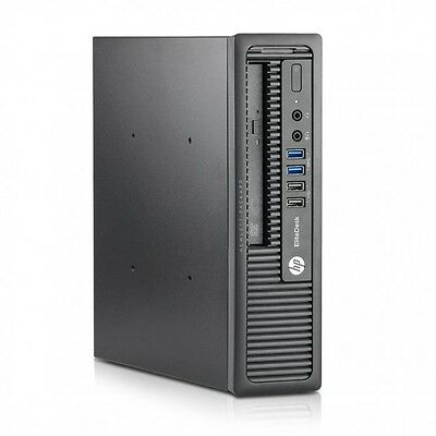 HP EliteDesk800 G1 USDT DesktopComputer i5 4690s 3.2GHz8GB 128SSD Win10 Pro Wifi