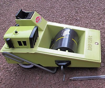 Vintage Rare Tonka Toys Road Paver Lime Green (24 cm Long) - (1507)