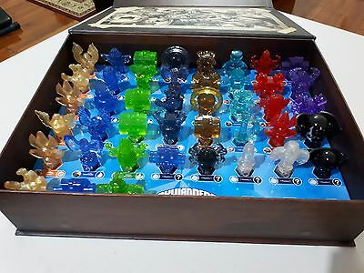 Skylanders Trap Team Box Bulk Set Of 43 Traps Tech+Fire+Air+Light+Kaos+Dark++