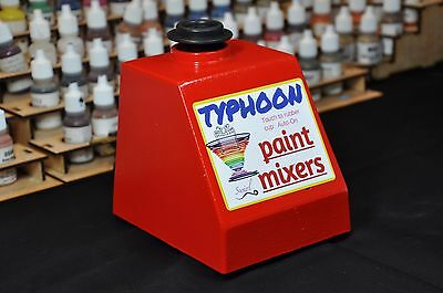 Typhoon Paint Mixer, hobby paint mixer, e - juice mixer, tattoo ink mixer,