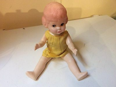 "Collectable Cute Vintage Doll In Great Condition 14"" Tall"