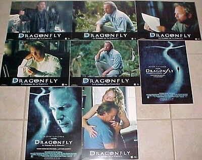 Kevin Costner Susanna Thompson lobby card set 8 Dragonfly