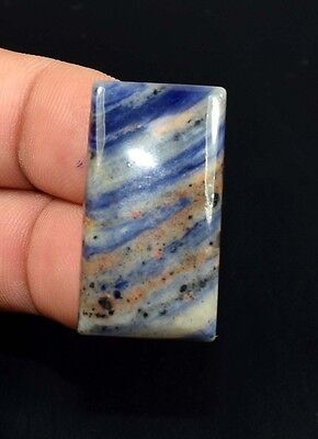 Lovely 39.30 Cts. 100 % Natural Multi Sodalite Cushion Cab Untreated Loose Gems