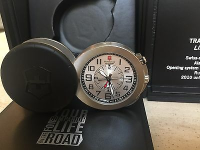 Victorinox travel Alarm Clock ON THE ROAD BNIB. Limited Edition. Long Sold Out.