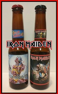 Iron Maiden ( 2 pack - 12 oz beer bottles ) The Trooper / Somewhere in Time