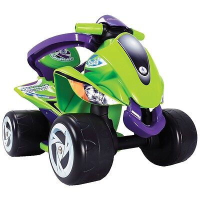 S#Injusa 6-in-1 Quad Car Protection Ride-on Kids Children Outdoor Toy Vehicle