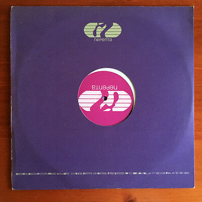 """DJ K-Alexi – From The Front Or From The Back 12"""" 1998 Nepenta – NPT 06"""