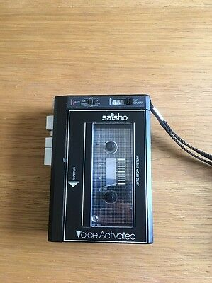 Vintage Saisho Tr50 Voice Activated Tape Recorder