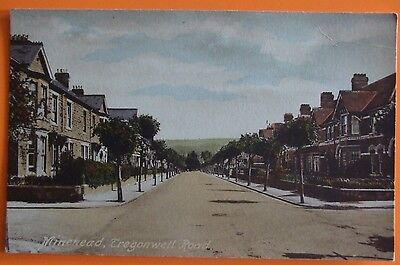 FRITHS SERIES Postcard c.1905  TREGONWELL ROAD MINEHEAD SOMERSET
