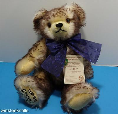 HERMANN COMMEMORATIVE  MOHAIR #93 of 500 FULLY TAGGED MADE IN GERMANY
