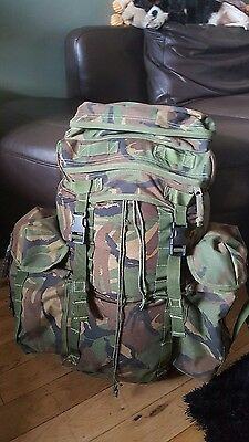 British Army Issue DPM Woodland Camo 30 Litre IRR Patrol Pack Rucksack